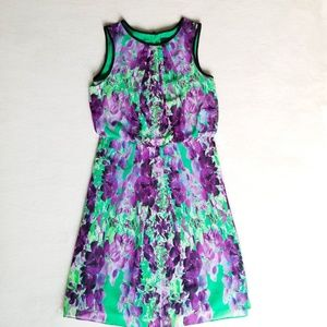 Adriana Papell Iris Chiffon Dress